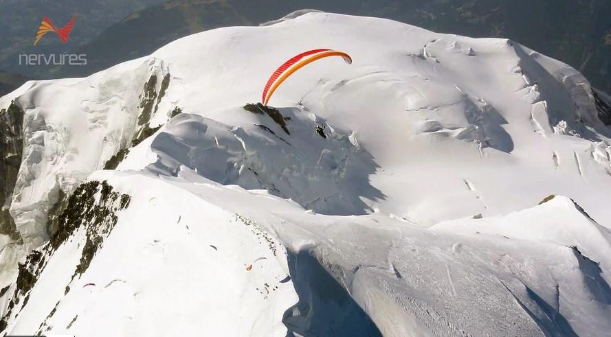 Le Mont Blanc en Parapente par Stéphane Boulenger