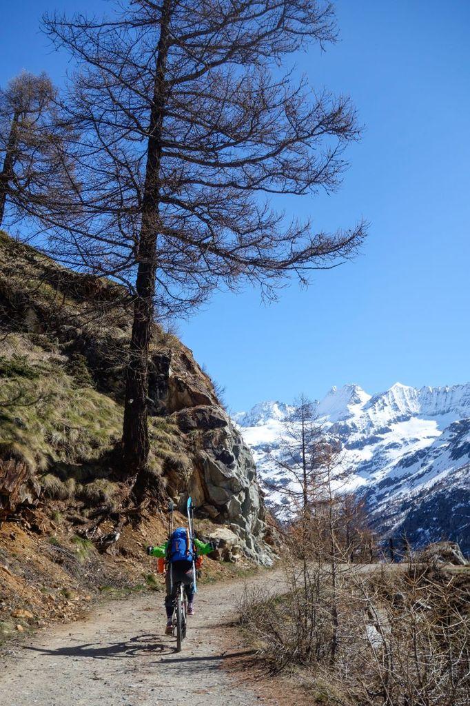 Dent d'Herens – ski de randonnée avec  Jean Annequin