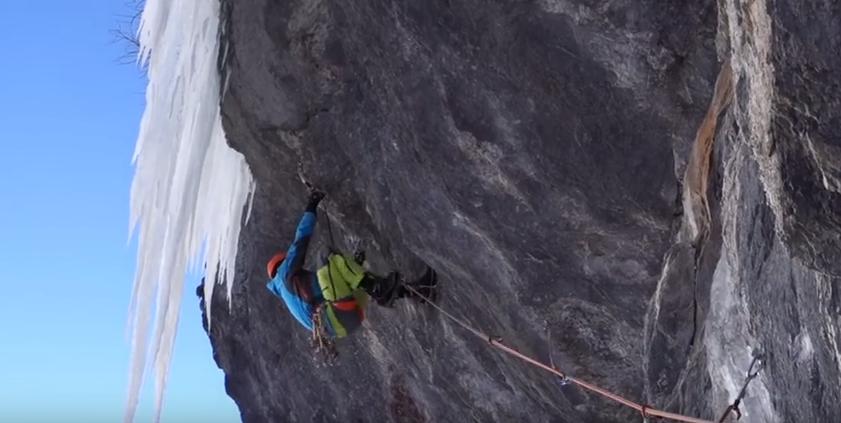 belle ouverture en mixte climbing dans la vallée de Freissinieres