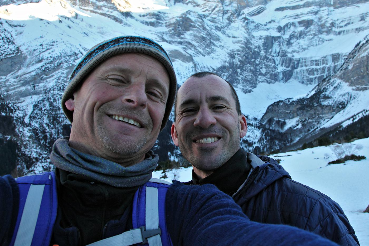 Cascade de glace à Gavarnie avec Rémi Thivel