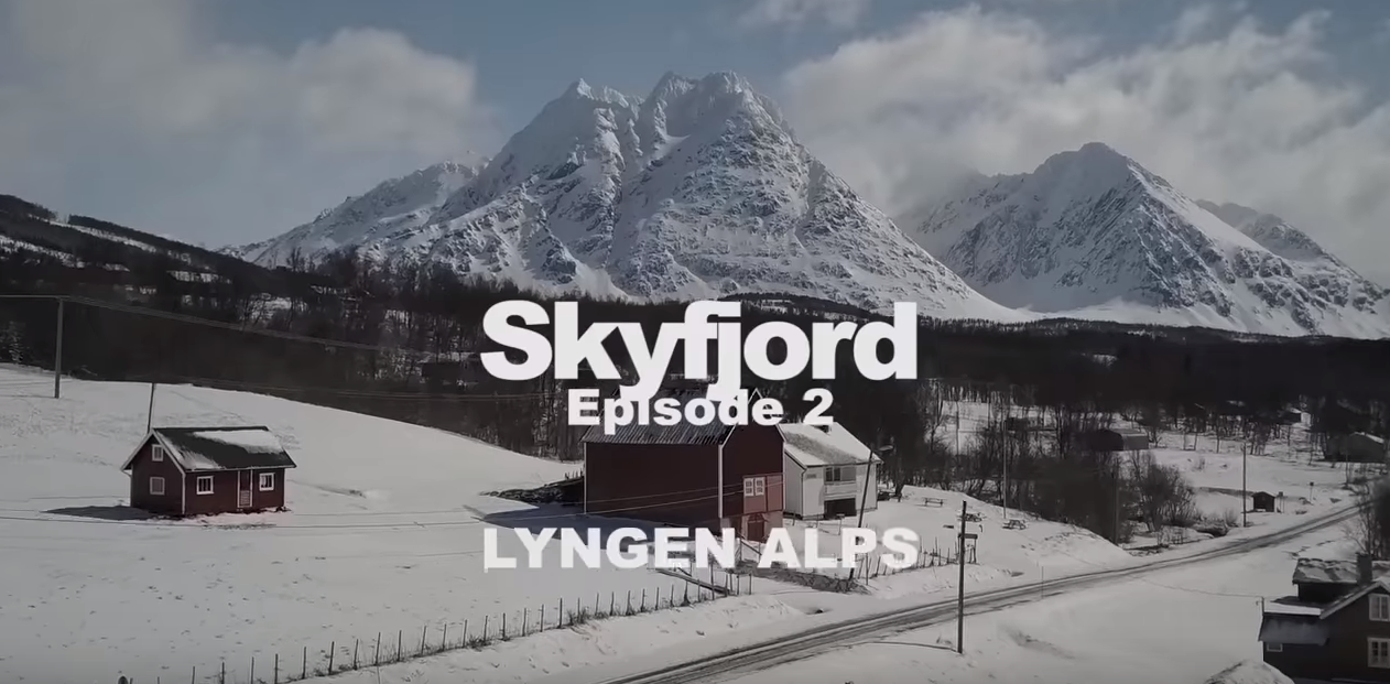 Film skyfjord Episode 2-Alpes de Lyngen