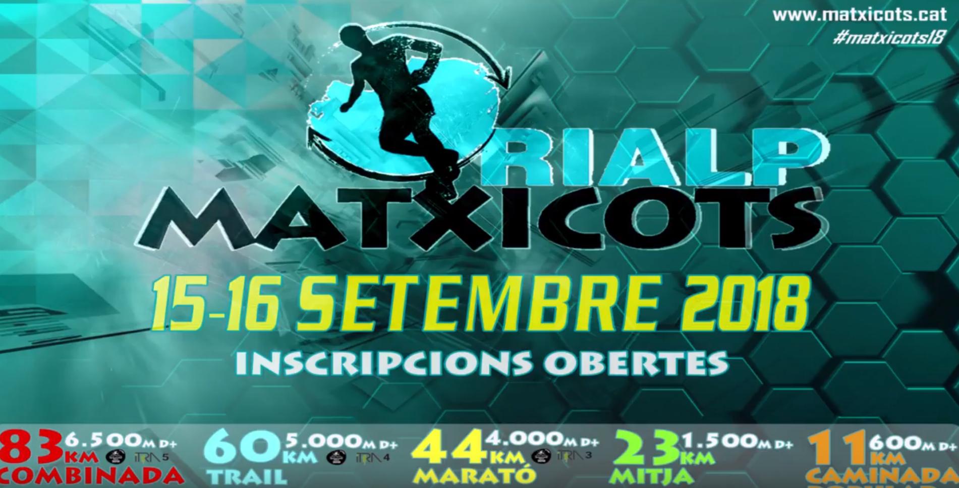 Ultra trail Pyrénées RIALP MATXICOTS