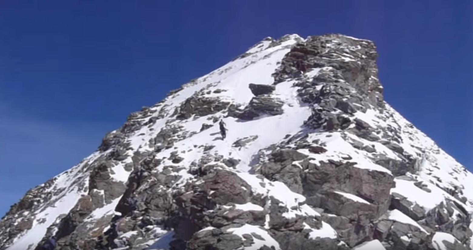 Alpinisme – Dent Blanche – 4357 m – Arête Sud en vidéo