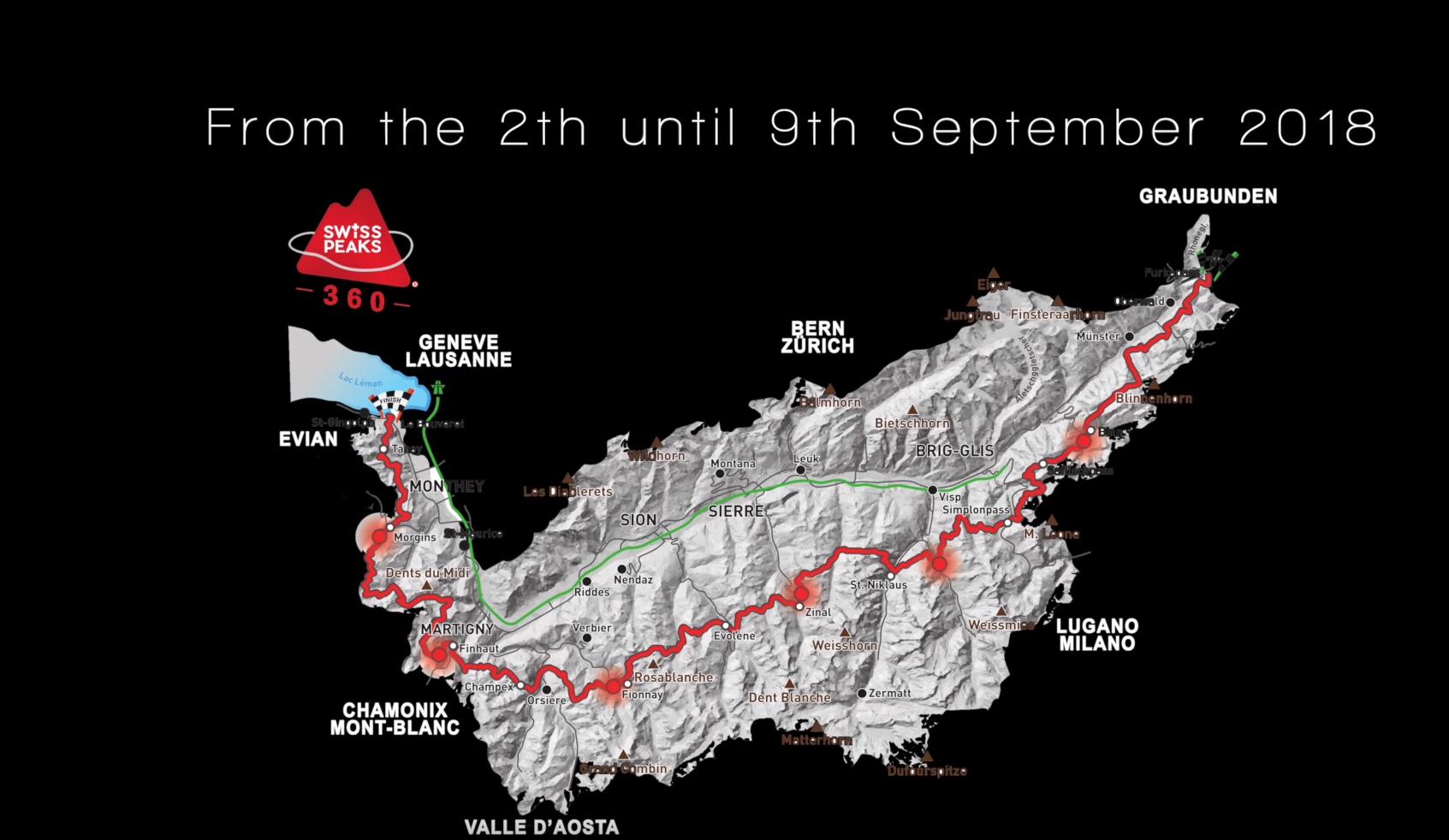 Utra trail Alpes : SwissPeaks Trail