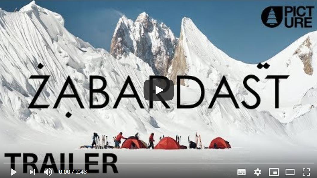 ZABARDAST (2018) Ski freeride extrême au Pakistan (vidéo FR)