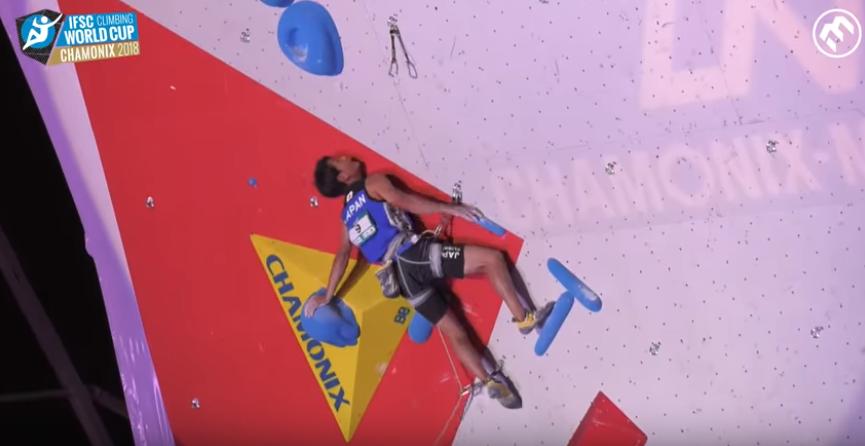 Escalade – Coupe du monde de Chamonix 2018