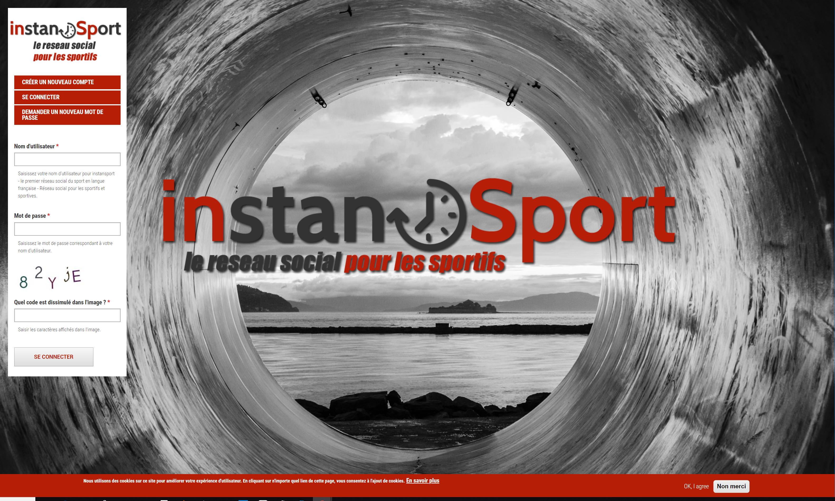 instansport.com le réseau social gratuit en français pour les sportifs